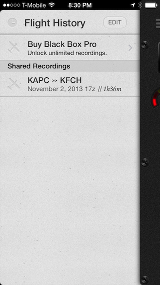 Shared Recordings library.