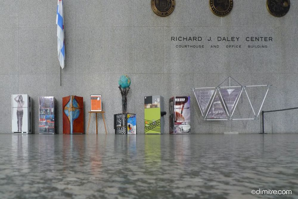 2010 Art exhibition at the Richard J. Daley Courthouse
