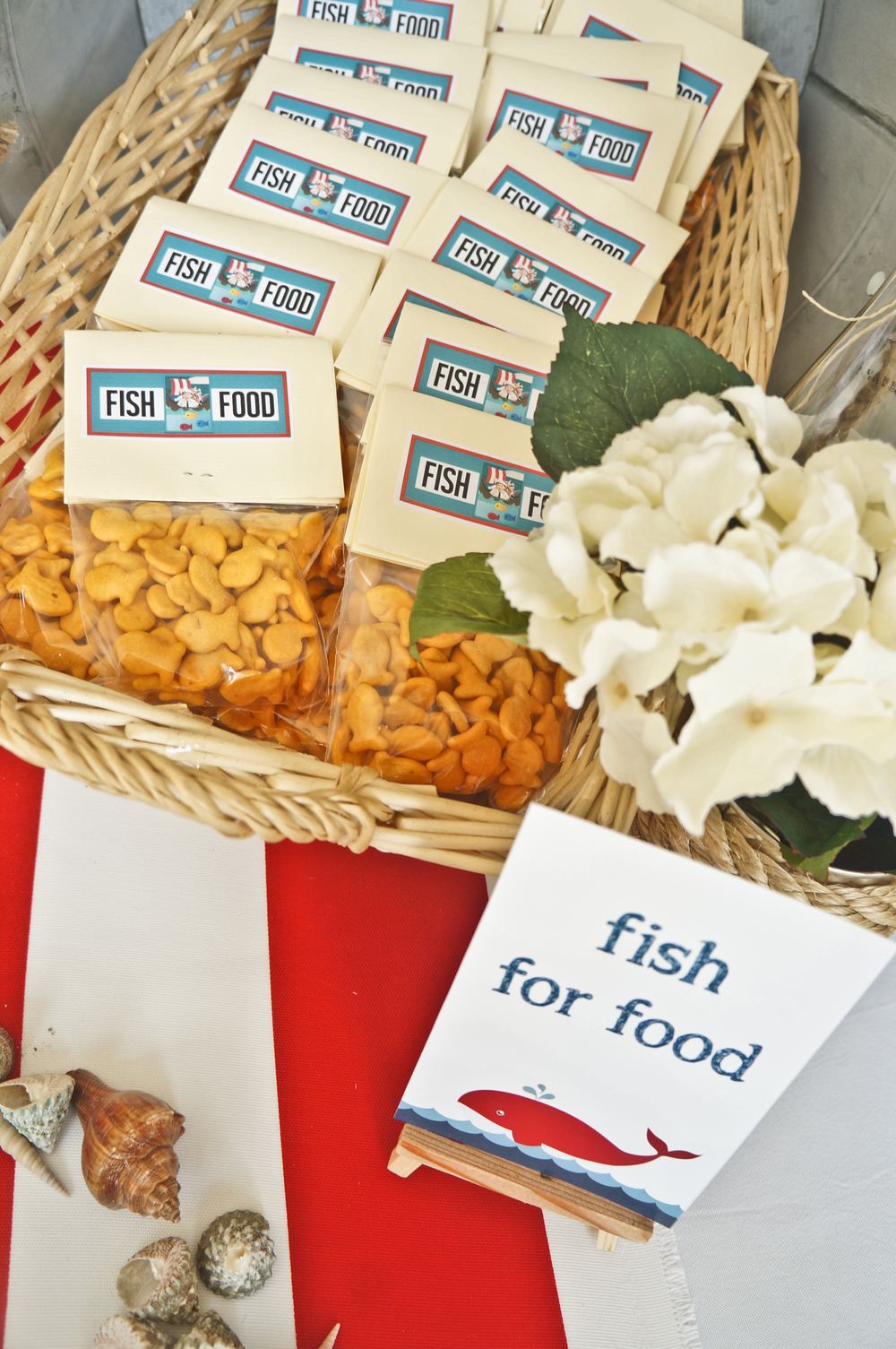 nautical party fish food