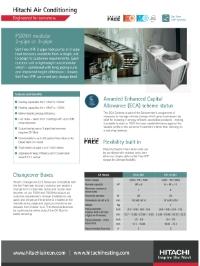 FSXNH Modular Hi Efficiency 2 or 3 Pipe