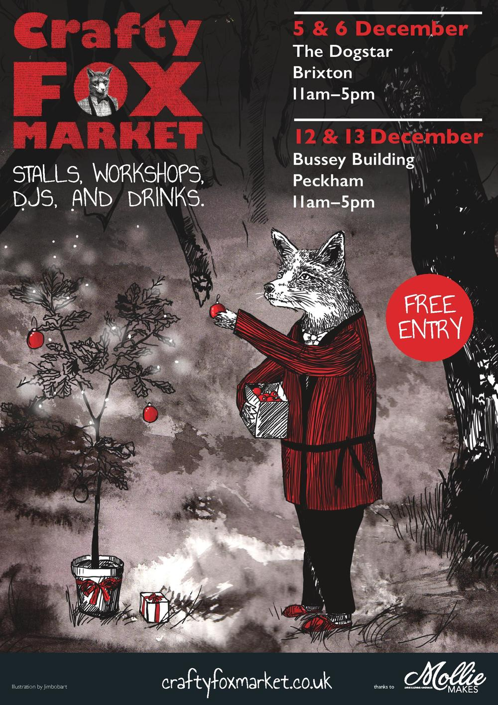 Crafty Fox Christmas Market 2015