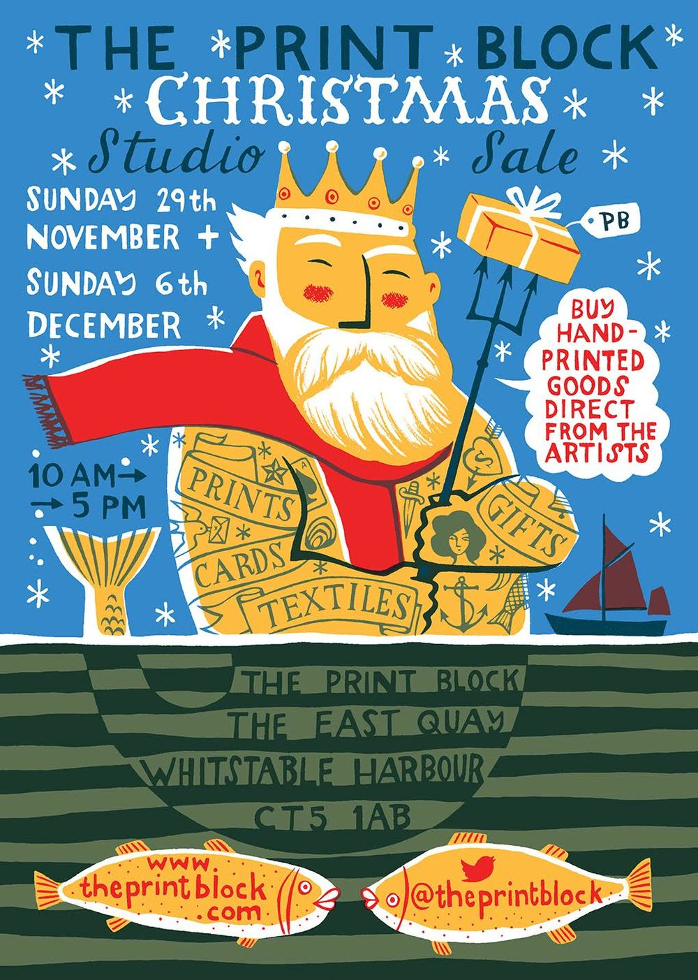 The Print Block studio Sale Christmas 2015