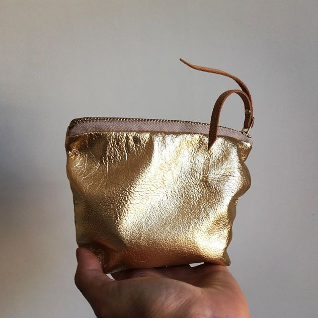 A very menacing gold purse just cannot wait to get out! This little bright one have escape!! You will be able find this  @frankwhitstable @ada_gallery It has been abit of GaGa! #deliciousgold #gold #leathergoods #specialoccasion #eveningwear #nightout #handmade #maker #madeinengland #madeinkent #britishmade #Whitstable #marketharborough #shopsmall #shopindependent #quirky #blingbling