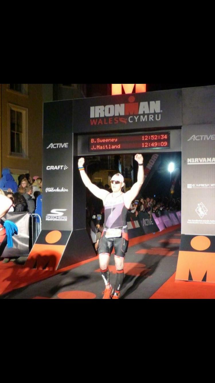 Ben Sweeney  Ironman Wales 2016 - 12:52:34