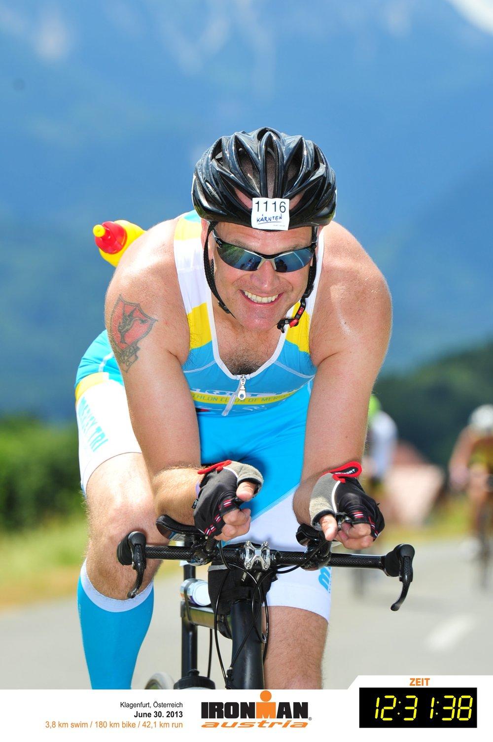Eddie Berry  Ironman Wales 2016 - 14:25:00  Ironman Lanzarote 2014 - 12:51:30  Ironman Sweden 2014 - 11:15:55  Ironman Austria 2013 - 12:31:39
