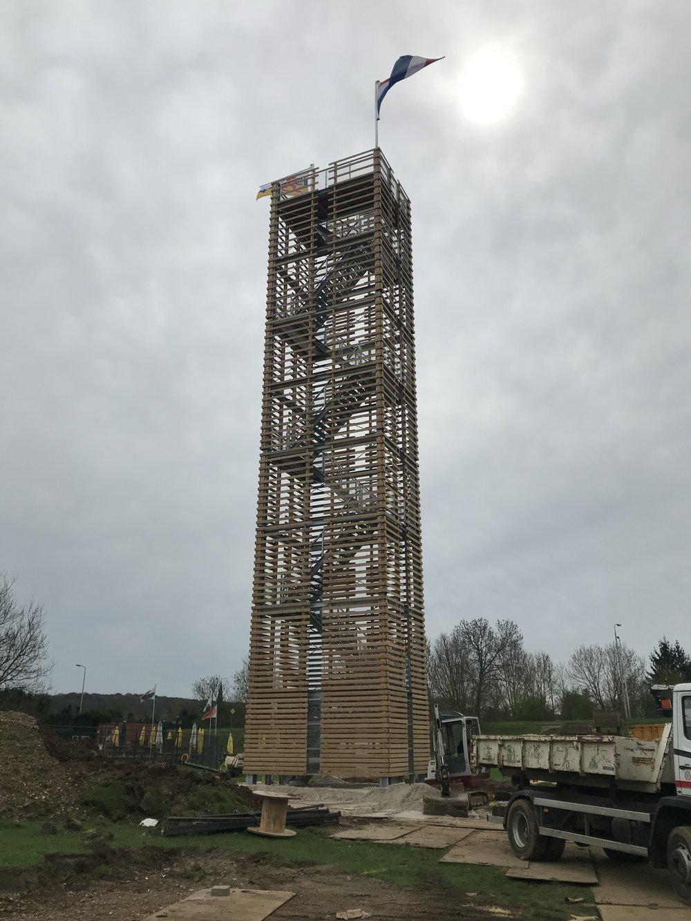 uitkijktoren de dwaze herder door GRASVELD Tuin- en Landschapsarchitecten