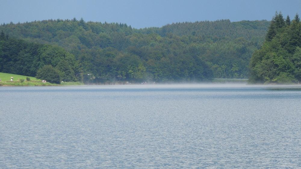 Wasserstand der Talsperren im Wupperverband.