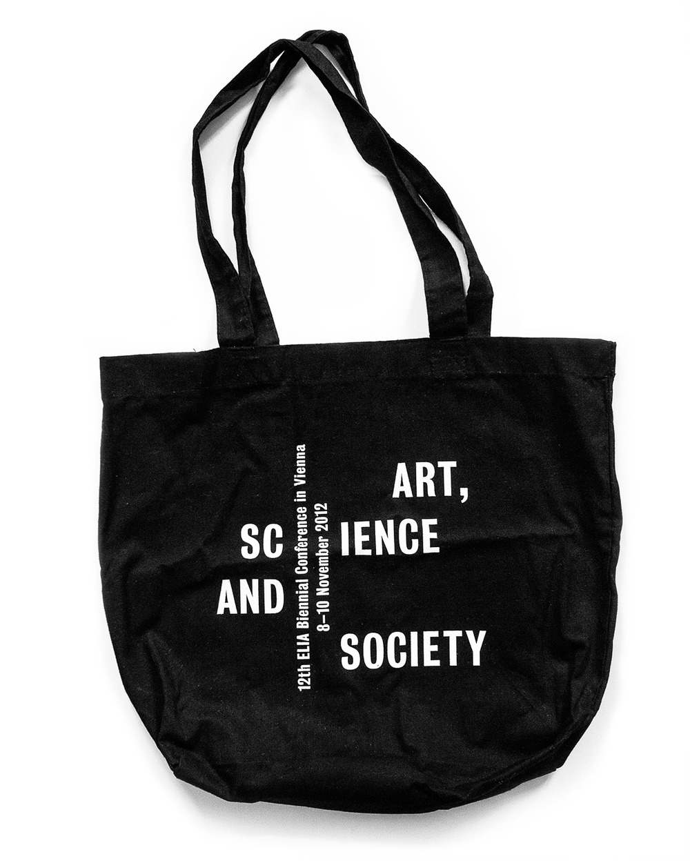 Conference Bag, Silscreen print on organic cotton
