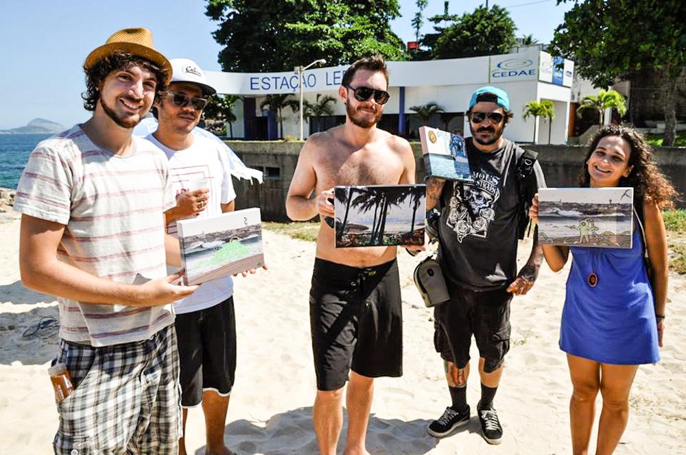 Evandro Vedovelli (Jacaranda band), Marcelo ment, Tomas de Lara, Felipe Diniz, Carolina Guimaraes  © Helmut Kleinsorgen