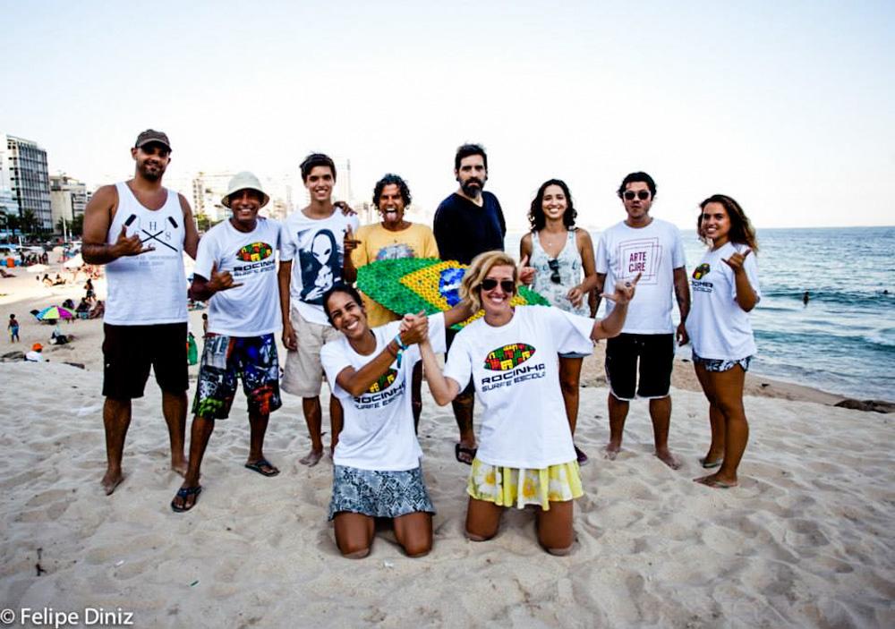 Bruno Big, Bocao, Pedro, Ras PXE, Rafo Castro, Cela Luz, Marcelo Ment, Claudia, Raissa, Fernanda © Felipe Deniz