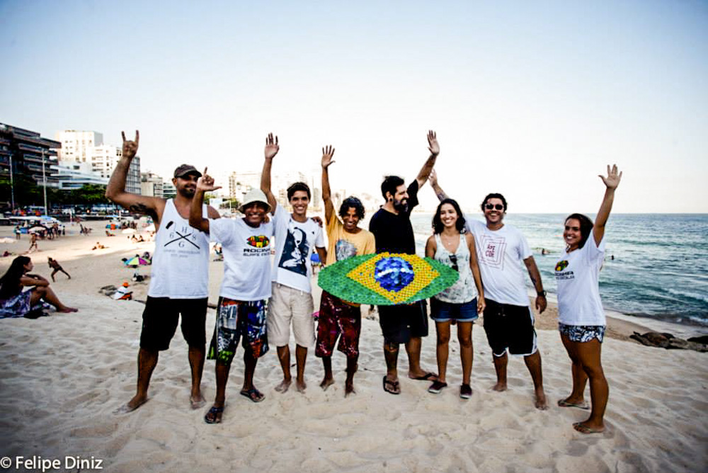 Bruno Big, Bocao, Pedro, Ras PXE, Rafo Castro, Cela Luz, Marcelo Ment, Claudia © Felipe Deniz