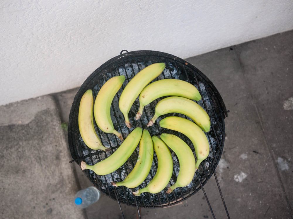 chocolate banananasanas