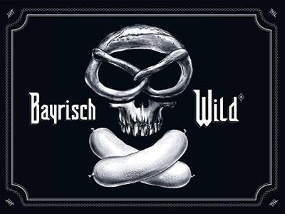 bayrisch wild art direction, graphic design, textile development