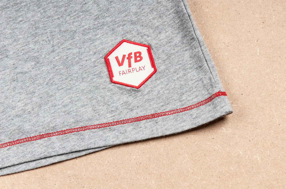 ▴ vfb fairplay patch and red hem seam