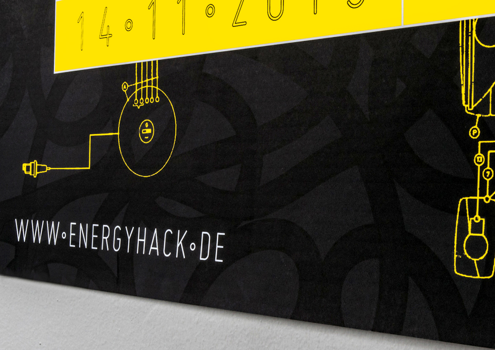 Energy hack poster