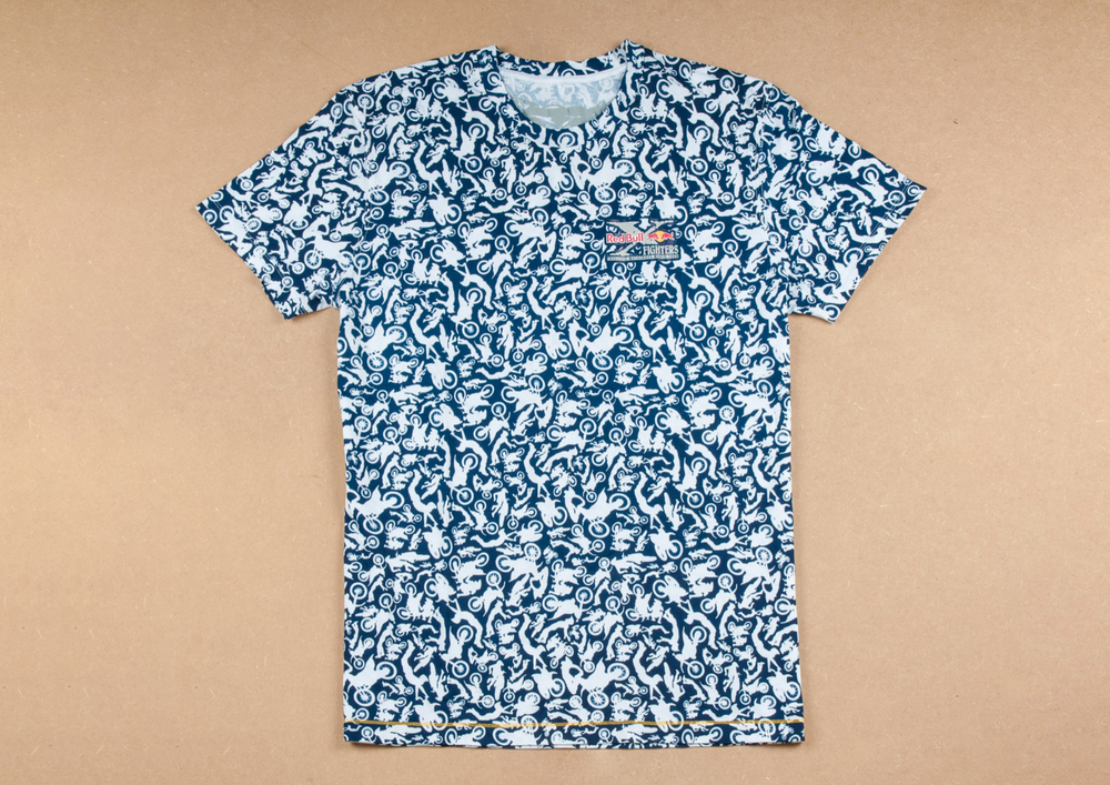x-fighters tricktionary t-shirt