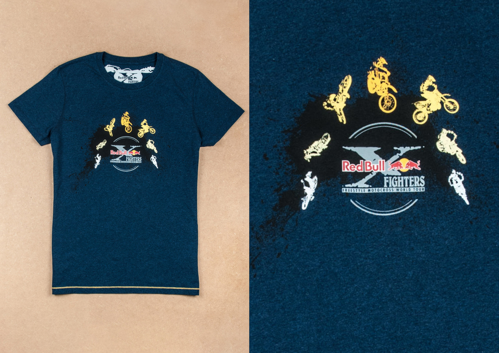 x-fighters sequence t-shirt