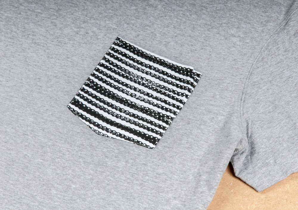 x-fighters chain pocket t-shirt