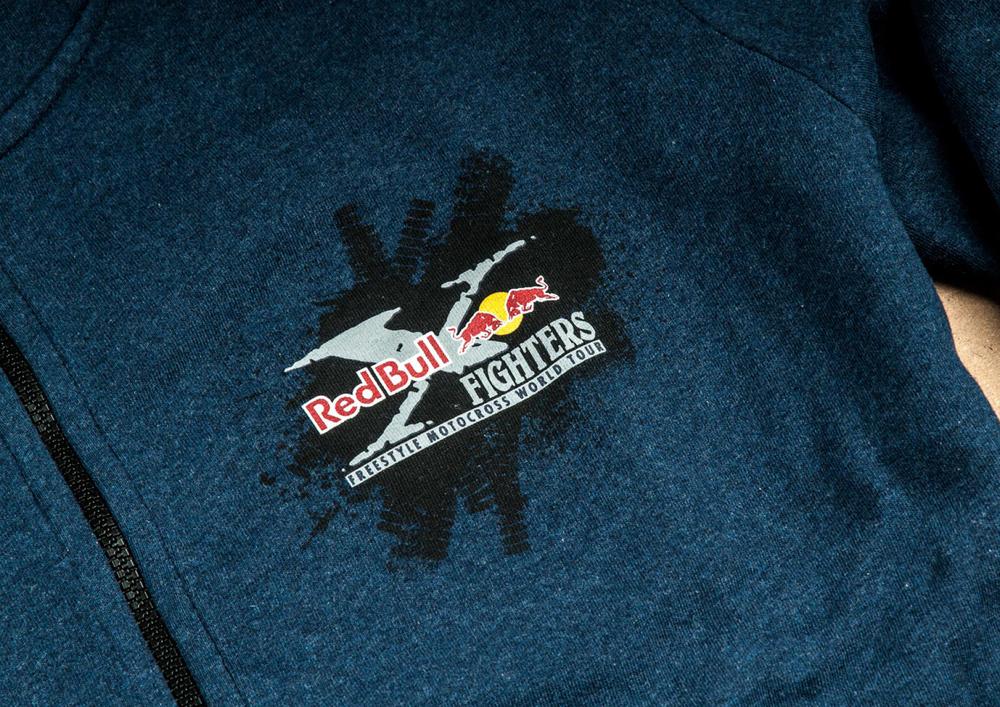 x-fighters Hooded zipper