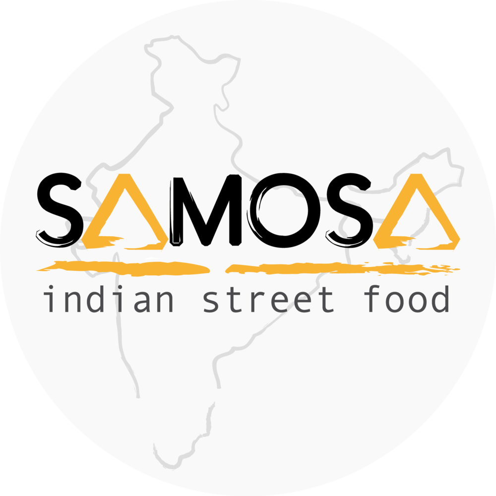 Handmade Indian samosaswith delicious fillings and layers of filo pastry. Served with a variety of dipping sauces and fresh lime