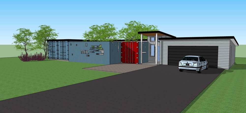 Westmont Shipping Container Home
