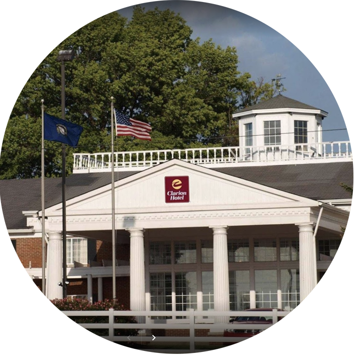 Clarion Hotel- Lexington - 1905 Newton Pike Lexington, KY 40511(859) 233-05123.7 milesRate: $139 plus taxes and fees. Single, double, triple, and quadruple occupancy.Rate Includes Complimentary: Wireless internet in guest rooms, self-parking, use of fitness facilities, breakfast, and shuttle to/from airportCheck-in: 4:00pmCheck-out: 11:00amReservation Deadline: May 29, 2020 at 11:59pm eastern timeCancellation Policy: Reservations can be cancelled up to 24 hours prior to arrival without penaltyClick here to reserve your room