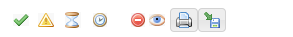 Status ikoner