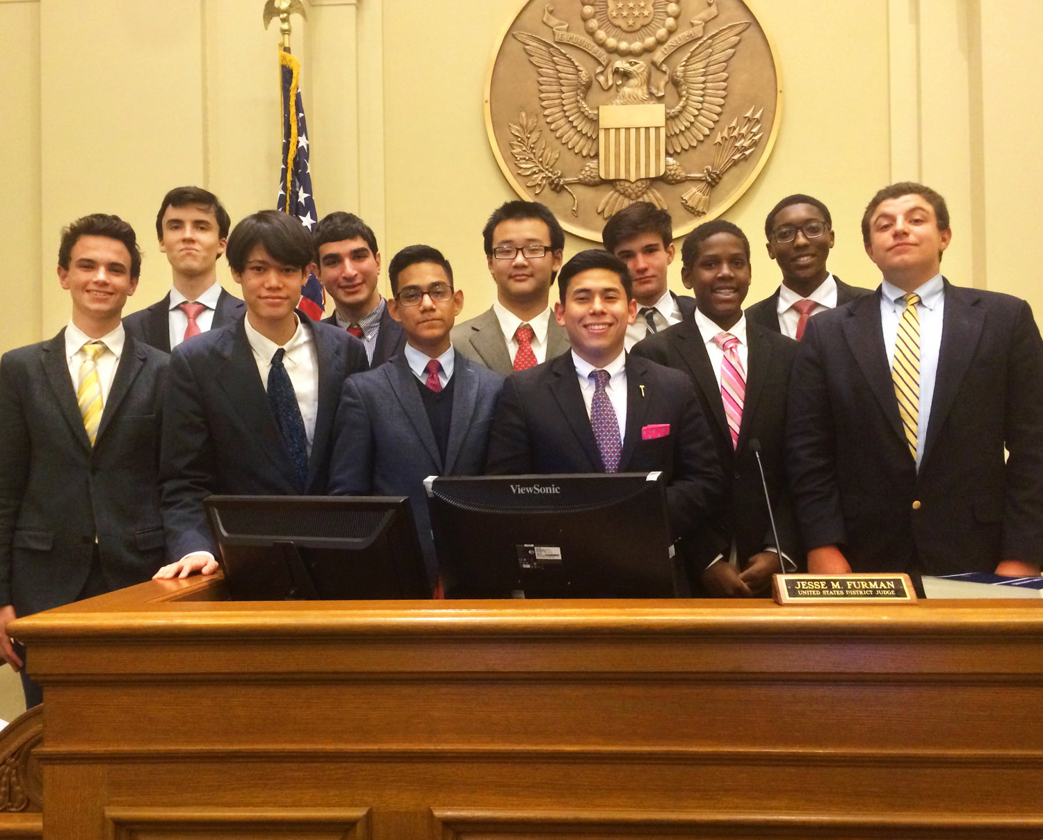 First Time Ever Mock Trial Team Reaches Final Four The Browning School
