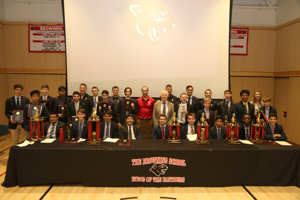 Fall Athletics Awards Assembly