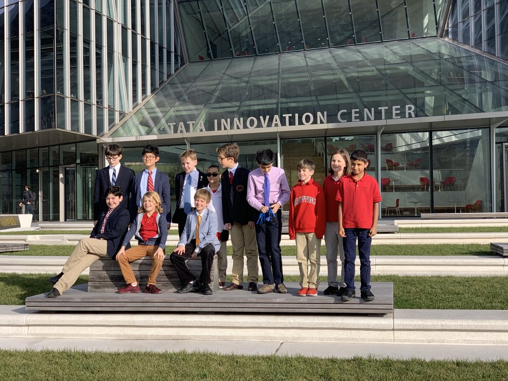 Arrival at Tata Innovation Center
