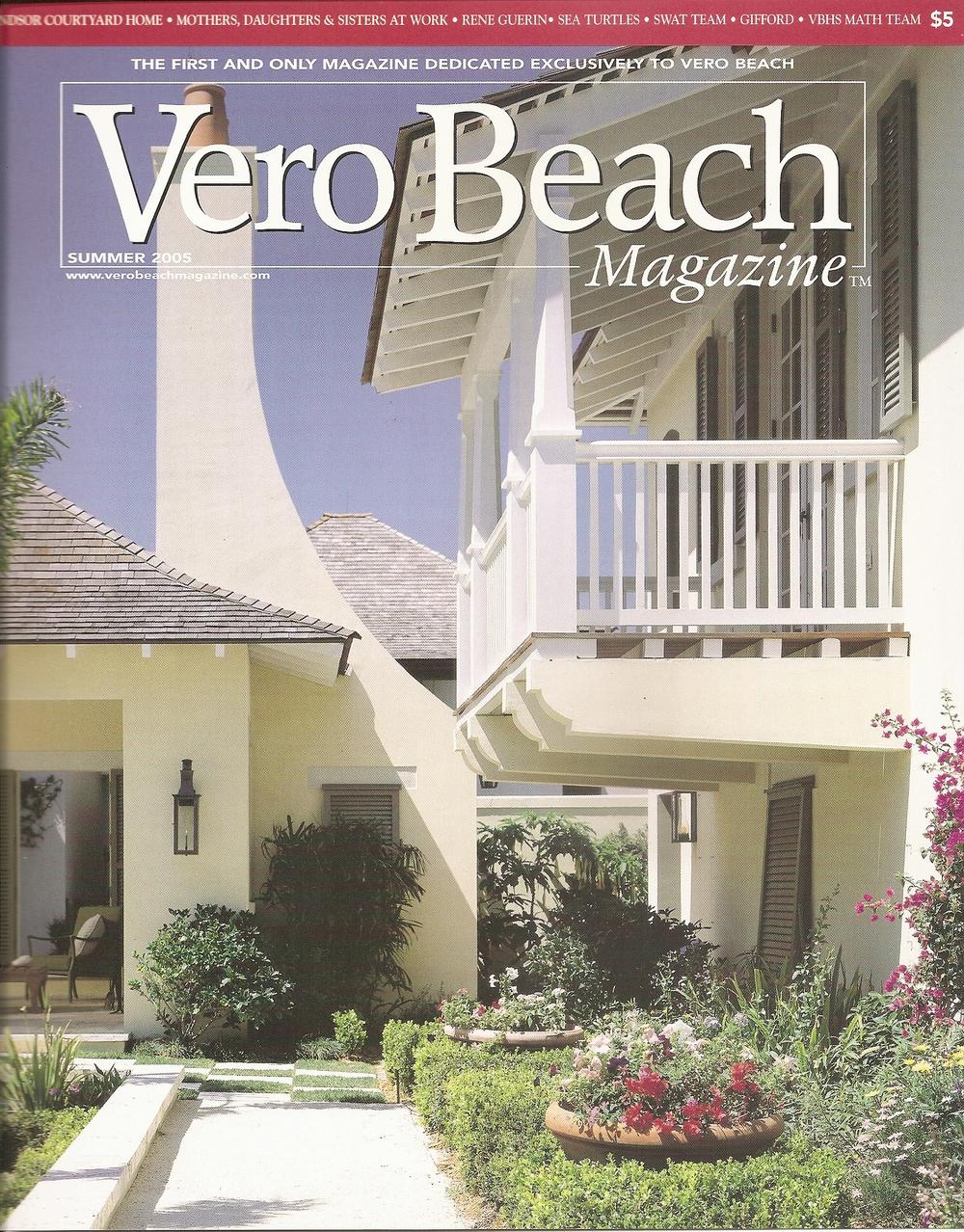 Vero Beach Magazine  | Summer 2005 | Windsor Courtyard Home