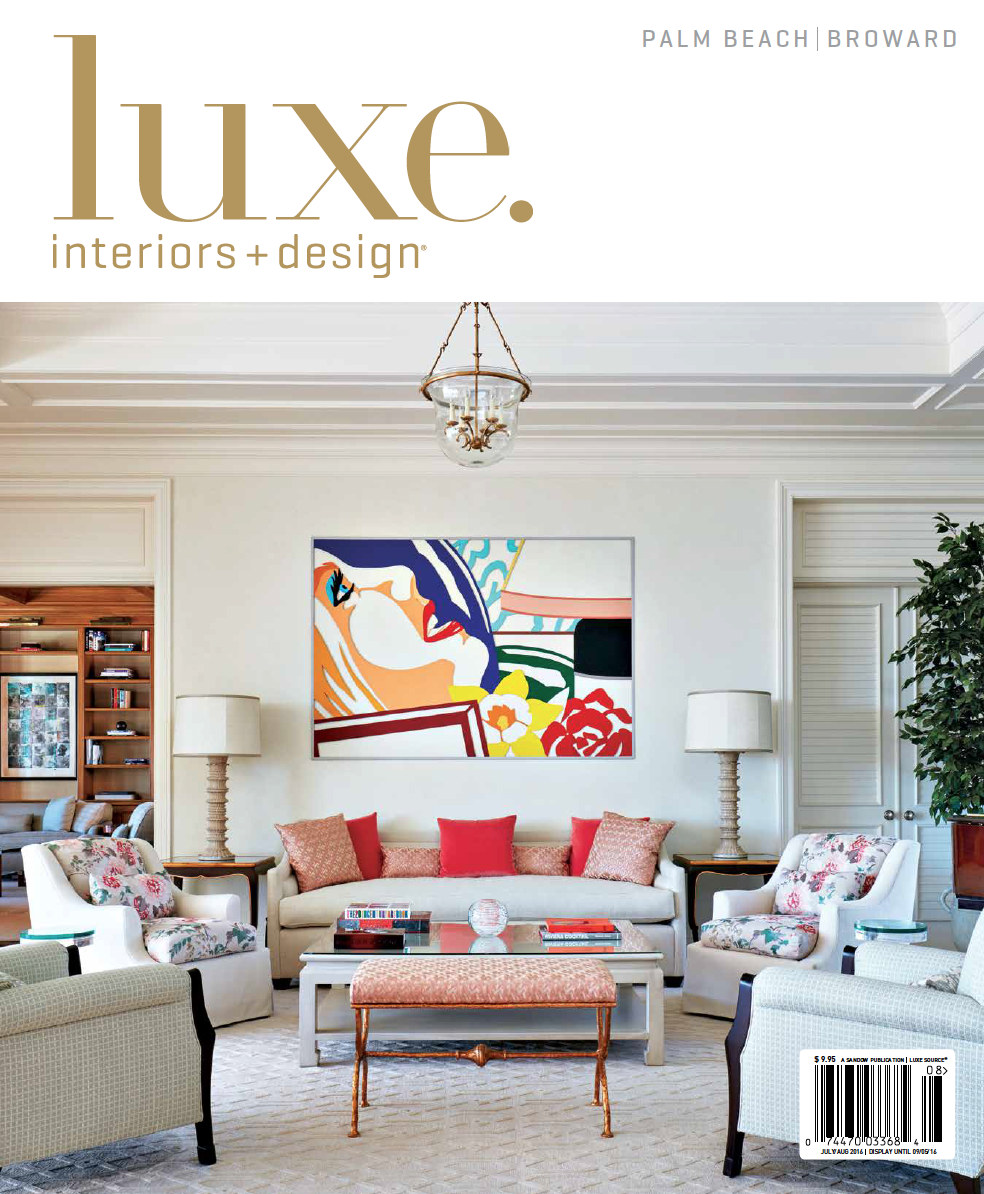 L  uxe. Interiors + Design   | July/Aug 2016 | Acting the Part