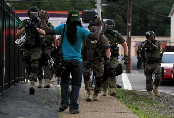 Ferguson, Missouri. August 11, 2014. Source: Associated Press
