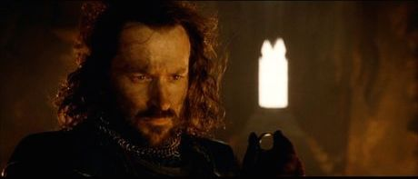 "Isildur: ""On second thought…"""