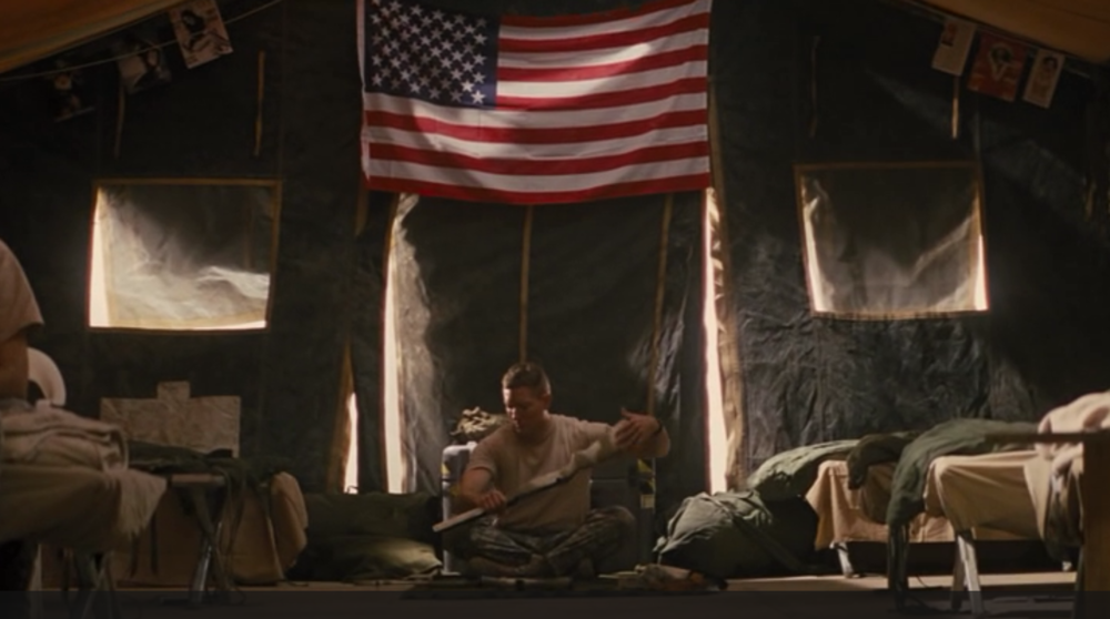 "Jack Reacher's ""American Sniper"": James Barr, played by Joseph Sikora."