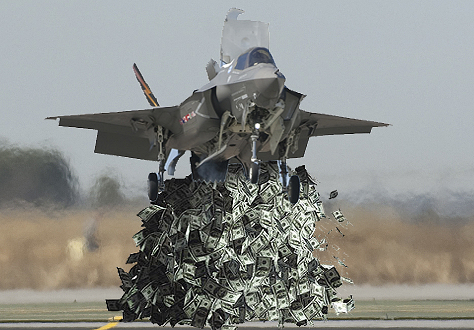 The Fed-powered F-35
