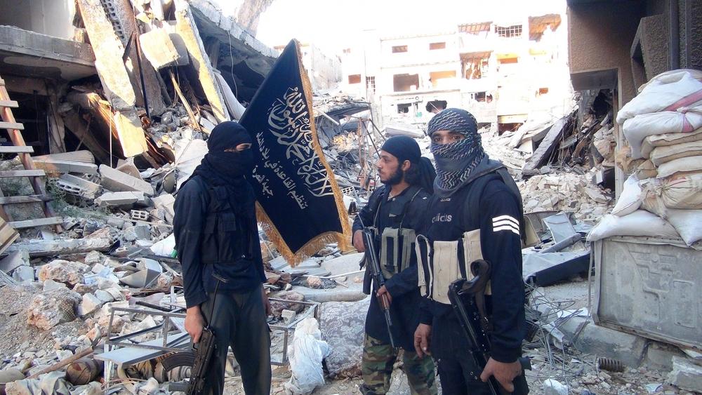 Syrian Al Qaeda rebels.