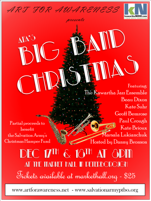 big band posterpng - Big Band Christmas