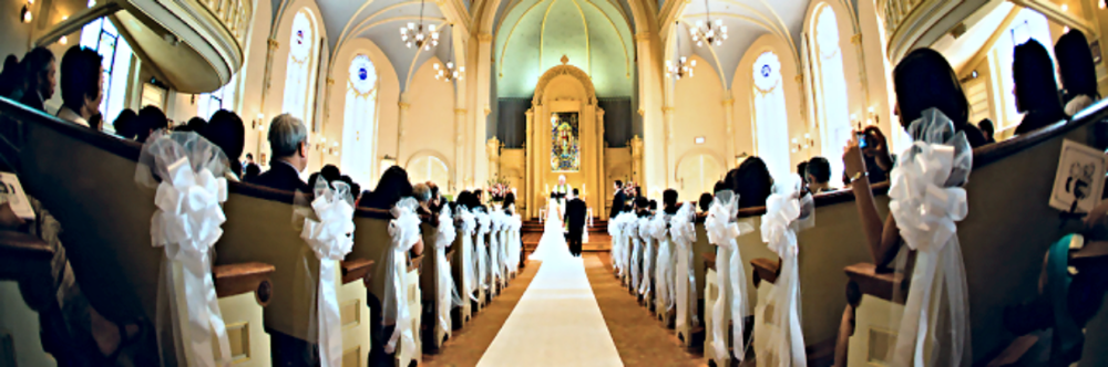 Wedding in St. Mark's Sanctuary