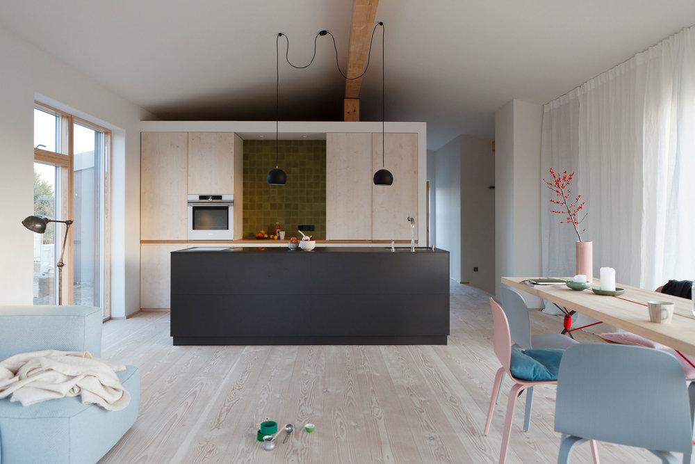 HOLIDAY HOME VIELLEICHTNOCH BALTIC SEA  Architects: agmm Architekten + Stadtplaner, Munich
