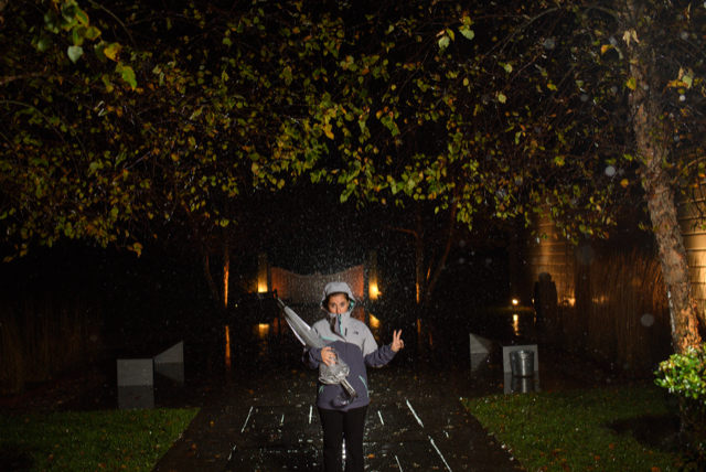Getting photographers ready to take those rainy wedding day photos!!