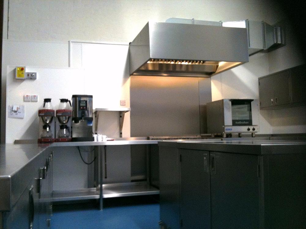 New fancy kitchen