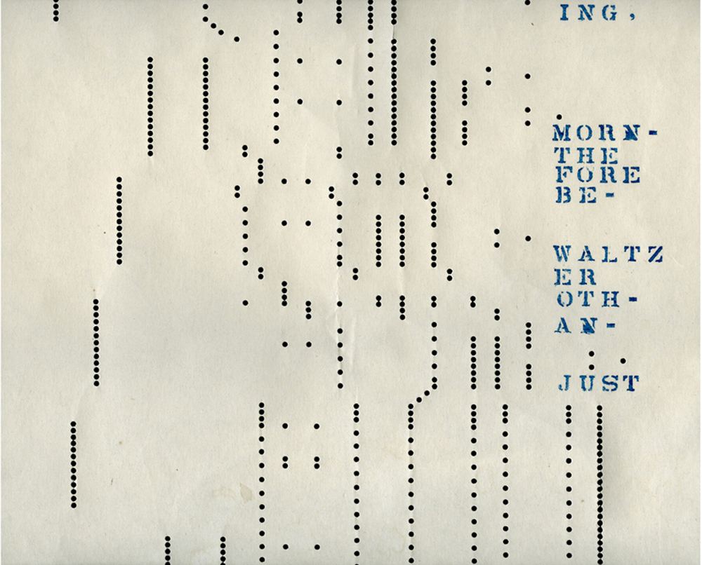Detail: Image Music Text: Song for Roland Barthes