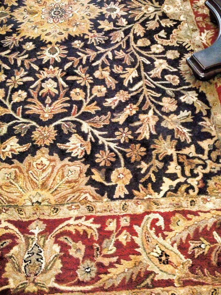 Red Gold Black Carpet
