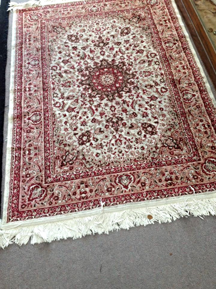 Red Medallion rug