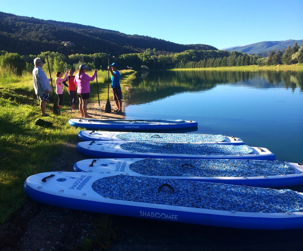 Clients at the lake LOVE our boards! Stability makes it easy for any beginner to pick up the sport FAST!