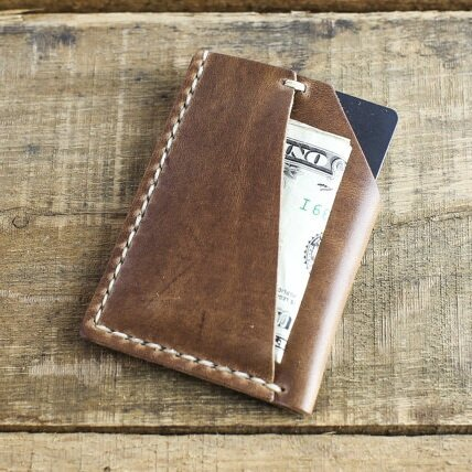 2a262ca3997 Choice Cuts Industries -Horween Natural Chromexcel Minimalist Wallet