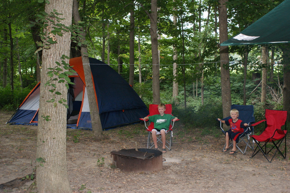 Family camping at its finest!