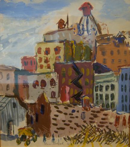 City Scene, 1931