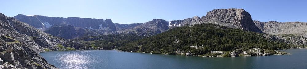 Wind Rivers - Tom's Lake Panorama